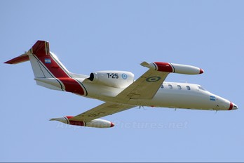 T-25 - Argentina - Air Force Learjet 35
