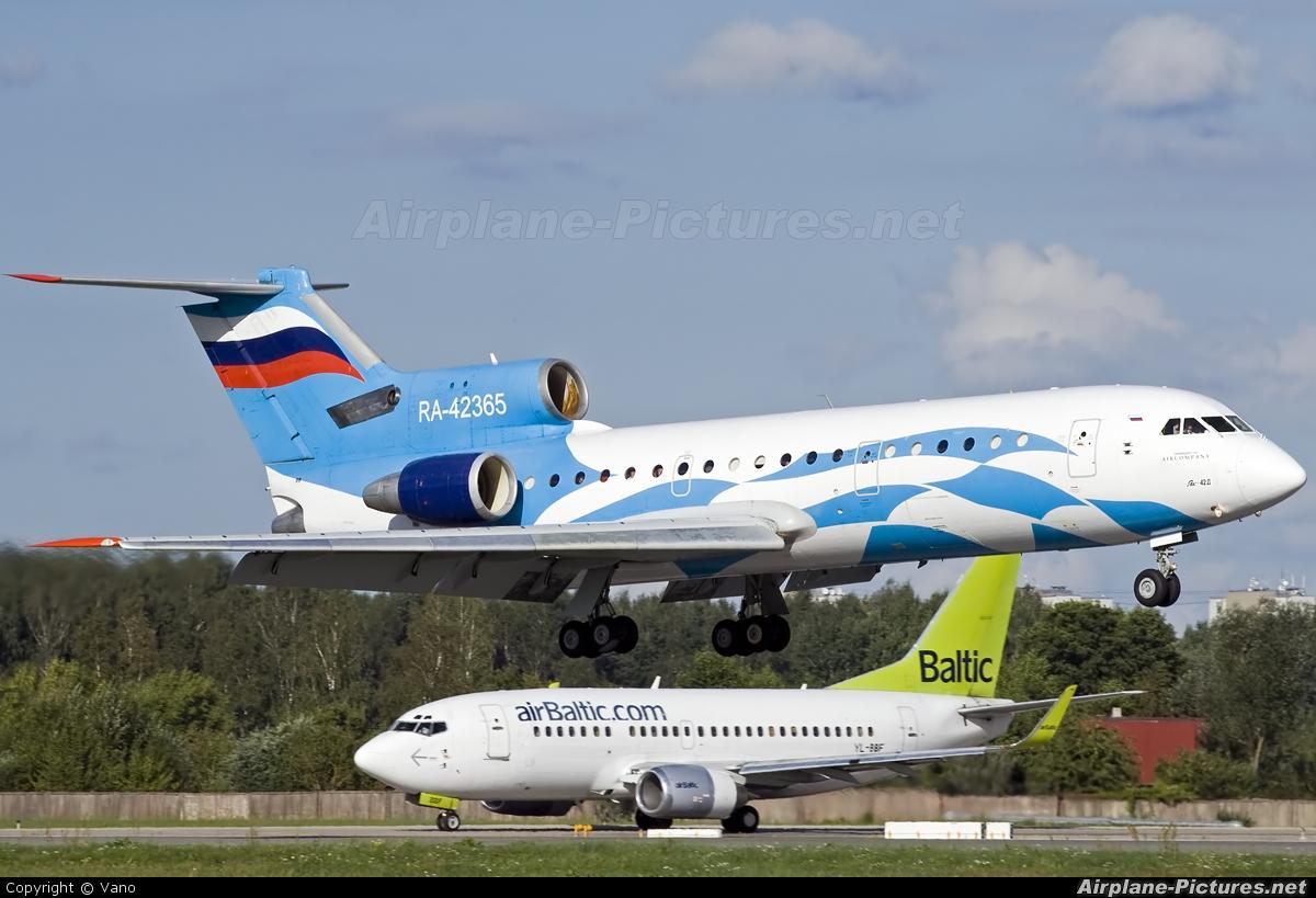 Aeroflot Plus RA-42365 aircraft at Riga Intl