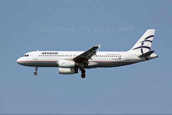 SX-DVW - Aegean Airlines Airbus A320