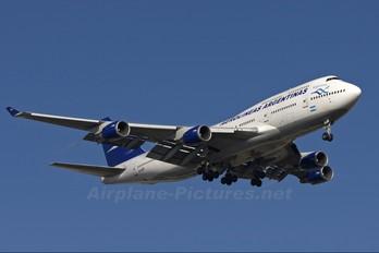 LV-AXF - Aerolineas Argentinas Boeing 747-400