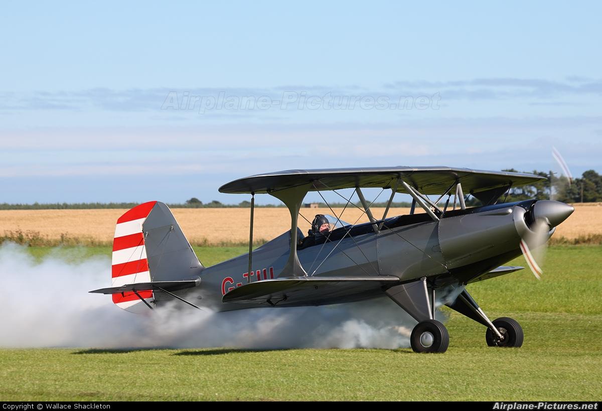Private G-JIII aircraft at Kingsmuir