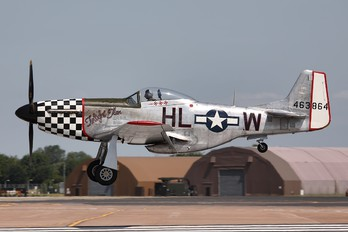 G-CBNM - Patina North American P-51D Mustang