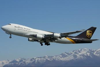 N571UP - UPS - United Parcel Service Boeing 747-400F, ERF