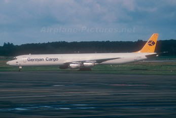 D-ADUC - German Cargo Douglas DC-8-73F