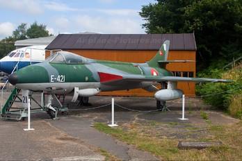 E-421 - Denmark - Air Force Hawker Hunter F.51