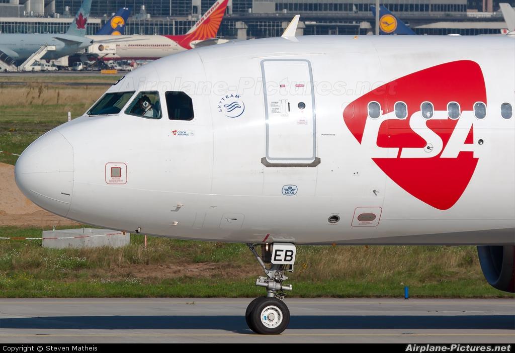 CSA - Czech Airlines OK-GEB aircraft at Frankfurt