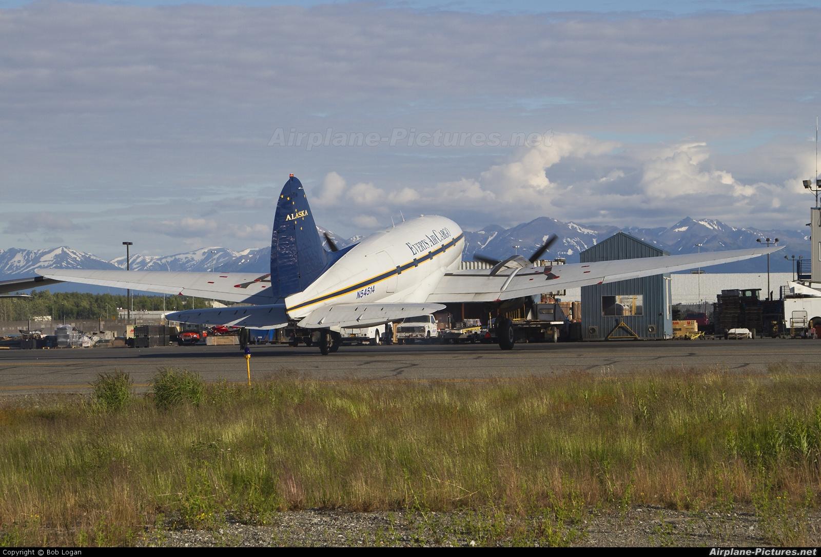 Everts Air Cargo N54514 aircraft at Anchorage - Ted Stevens Intl / Kulis Air National Guard Base