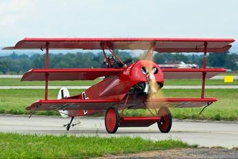OK-DUD07 - Letajici Cirkus Fokker DR1 Triplane