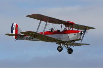 G-ANKT - The Shuttleworth Collection de Havilland DH. 82 Tiger Moth