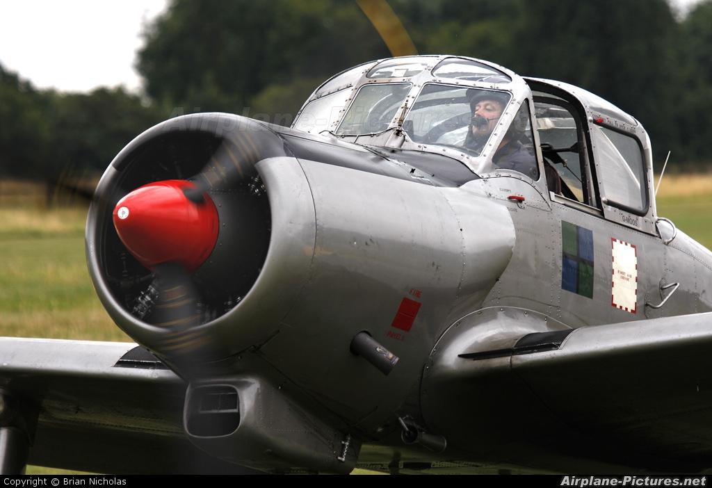 Private G-MOOS aircraft at Old Warden