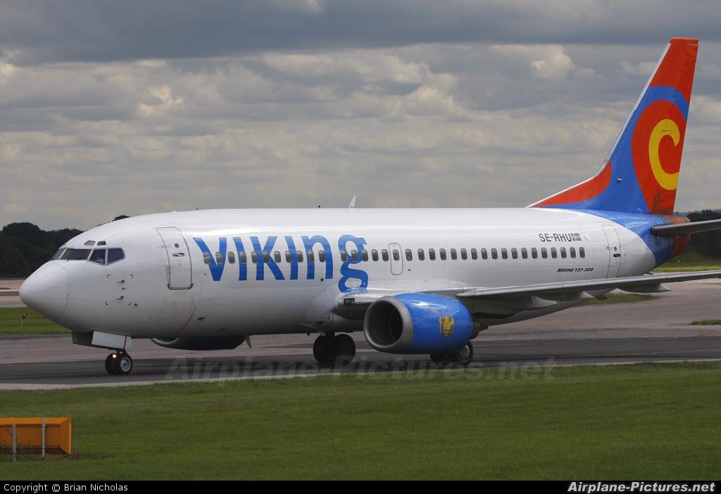 Viking Airlines SE-RHU aircraft at Manchester