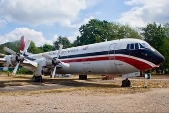 G-APEP - Hunting-Clan Air Transport Vickers Vanguard / Merchantman