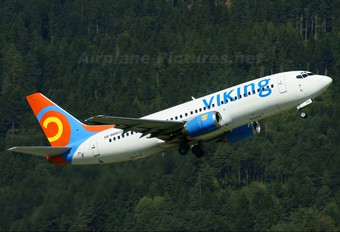 SE-RHV - Viking Airlines Boeing 737-300