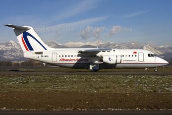 ZA-MAL - Albanian Airlines British Aerospace BAe 146-200/Avro RJ85
