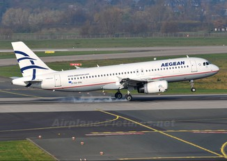 SX-DVL - Aegean Airlines Airbus A320