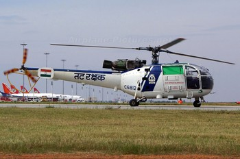 CG812 - India - Coast Guard Hindustan SA 316B Chetak