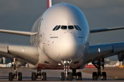 A6-EDH - Emirates Airlines Airbus A380 aircraft