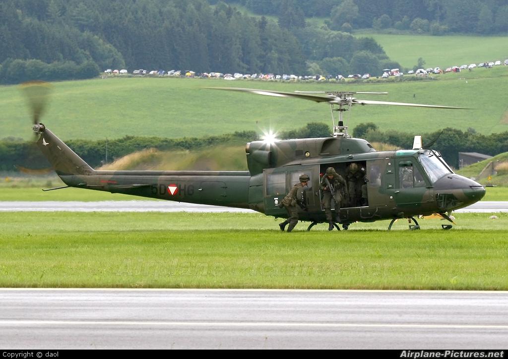Austria - Air Force 5D-HG aircraft at Zeltweg