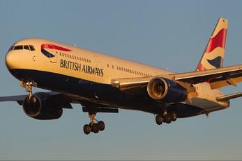 G-BNWU - British Airways Boeing 767-300