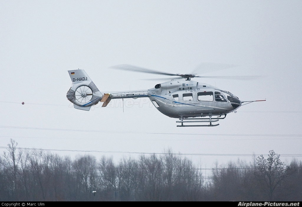 Eurocopter D-HADJ aircraft at Donauwörth - Eurocopter Heliport