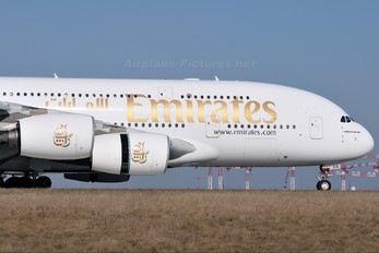 A6-EDB - Emirates Airlines Airbus A380