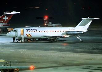 G-AZUK - Ryanair BAC 111