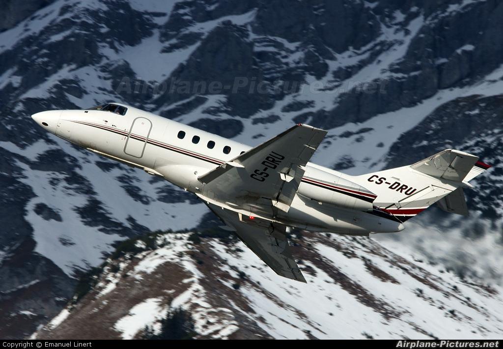 NetJets Europe (Portugal) CS-DRU aircraft at Innsbruck
