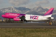 HA-LWE - Wizz Air Airbus A320 aircraft