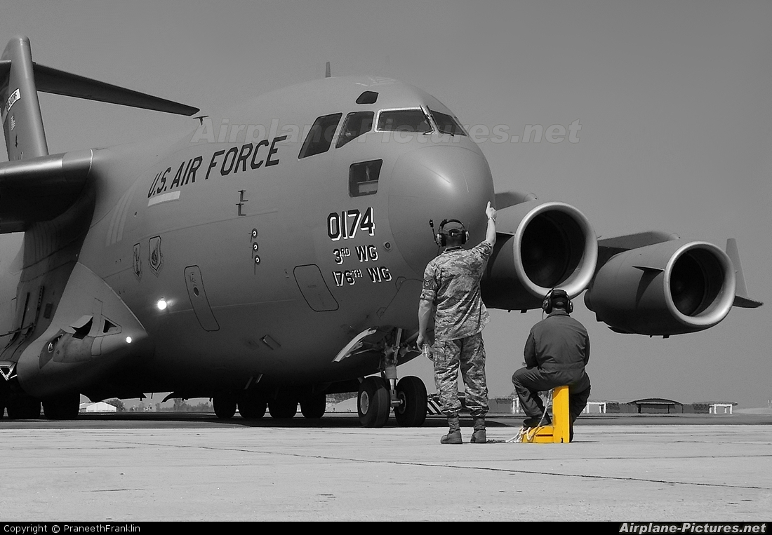 USA - Air Force 00-0174 aircraft at Yelahanka AFB