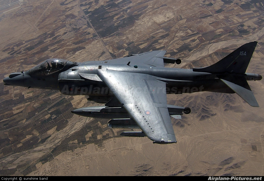 Royal Air Force ZD348 aircraft at In Flight - Afghanistan