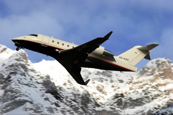 OO-KRC - Private Canadair CL-600 Challenger 600 series
