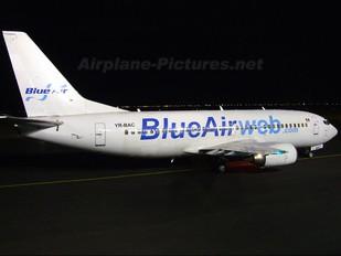 YR-BAC - Blue Air Boeing 737-300