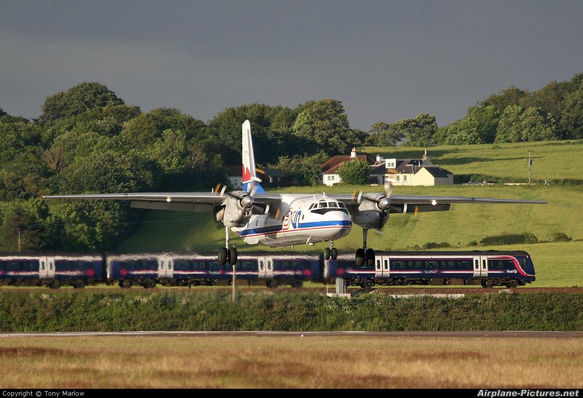 Exin SP-EXA aircraft at Edinburgh