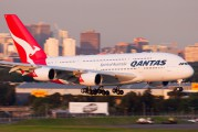 Qantas' latest A380 named David Warren on it's delivery flight title=