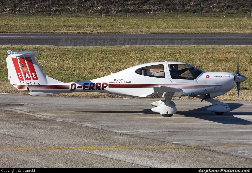 Private D-ERRP aircraft at Trento - Mattarello