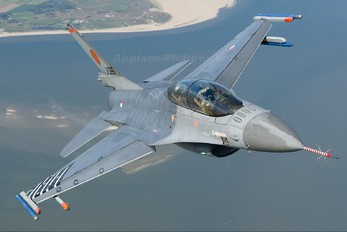 J-066 - Netherlands - Air Force General Dynamics F-16B Fighting Falcon