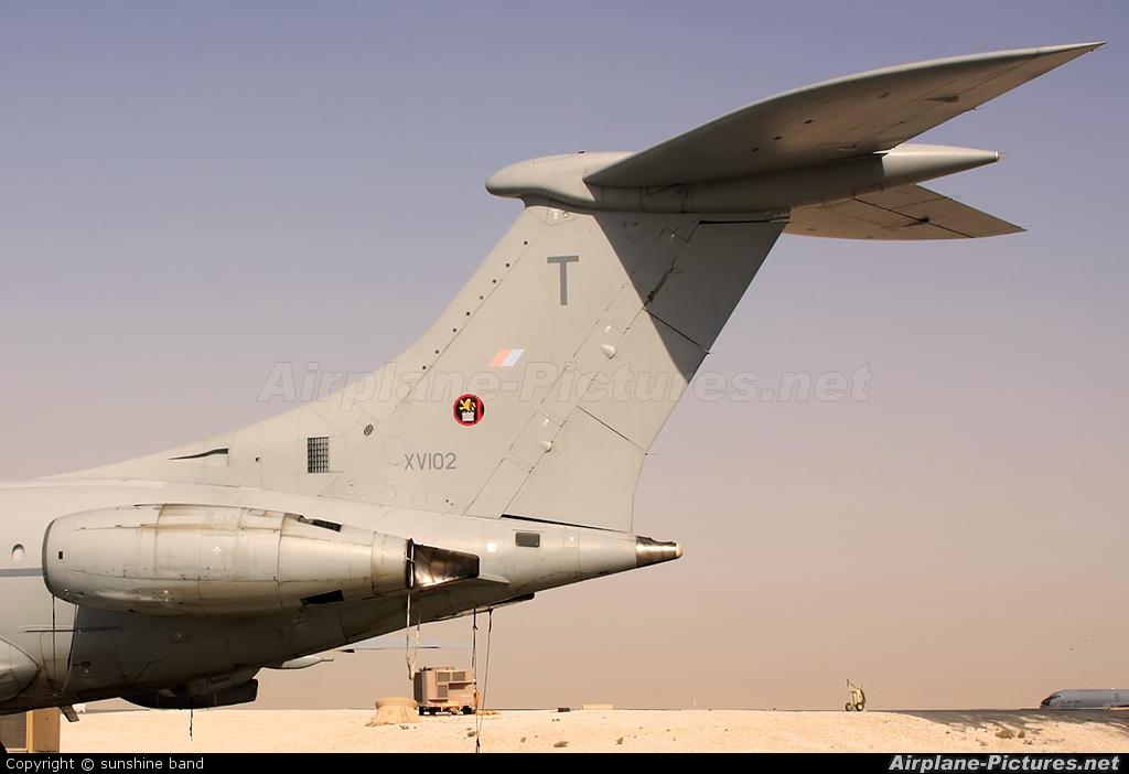 Royal Air Force XV102 aircraft at Al Udeid