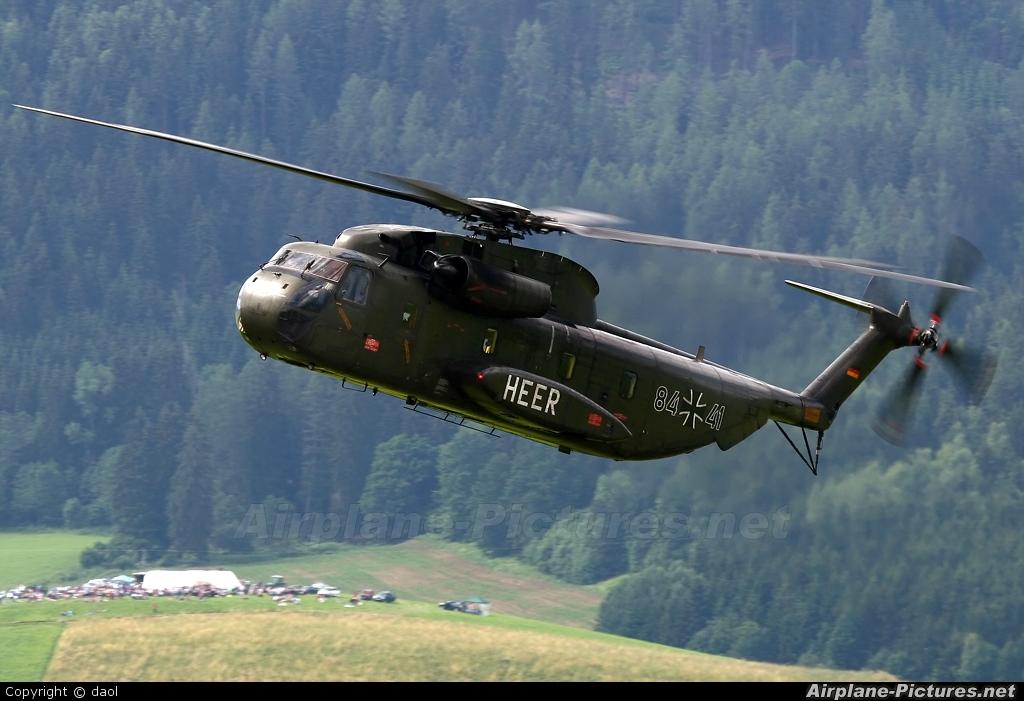 Germany - Army 84+41 aircraft at Zeltweg