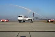 A7-AHD - Qatar Airways Airbus A320 aircraft