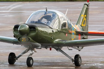 SE-FVX - Swedish Air Force Historic Flight Scottish Aviation Bulldog
