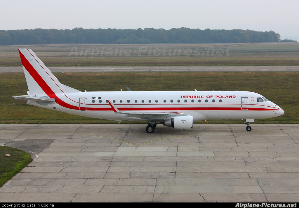 Poland - Government SP-LIH aircraft at Suceava - Ştefan Cel Mare