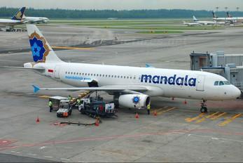 PK-RML - Mandala Airlines Airbus A320