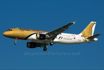 A9C-AB - Gulf Air Airbus A320