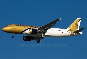 A9C-AC - Gulf Air Airbus A320