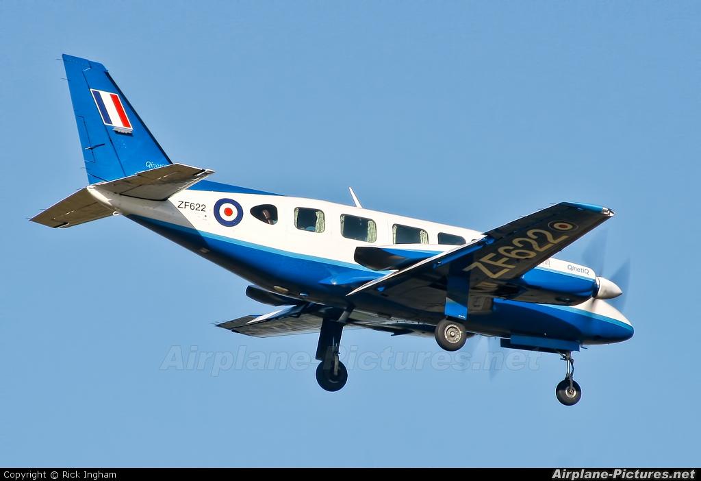 UK - QinetiQ ZF622 aircraft at Boscombe Down