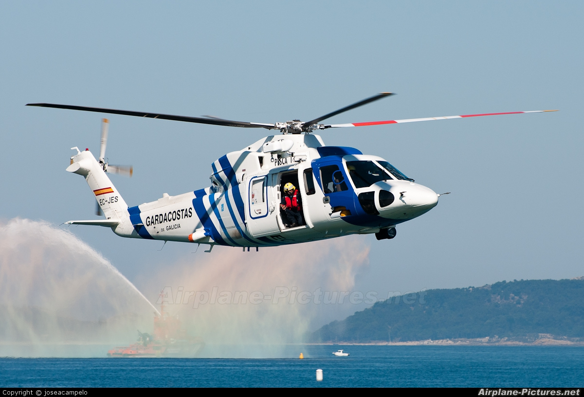 Spain - Coast Guard EC-JES aircraft at Off Airport - Spain