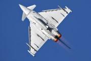 ZJ810 - Royal Air Force Eurofighter Typhoon T.1 aircraft