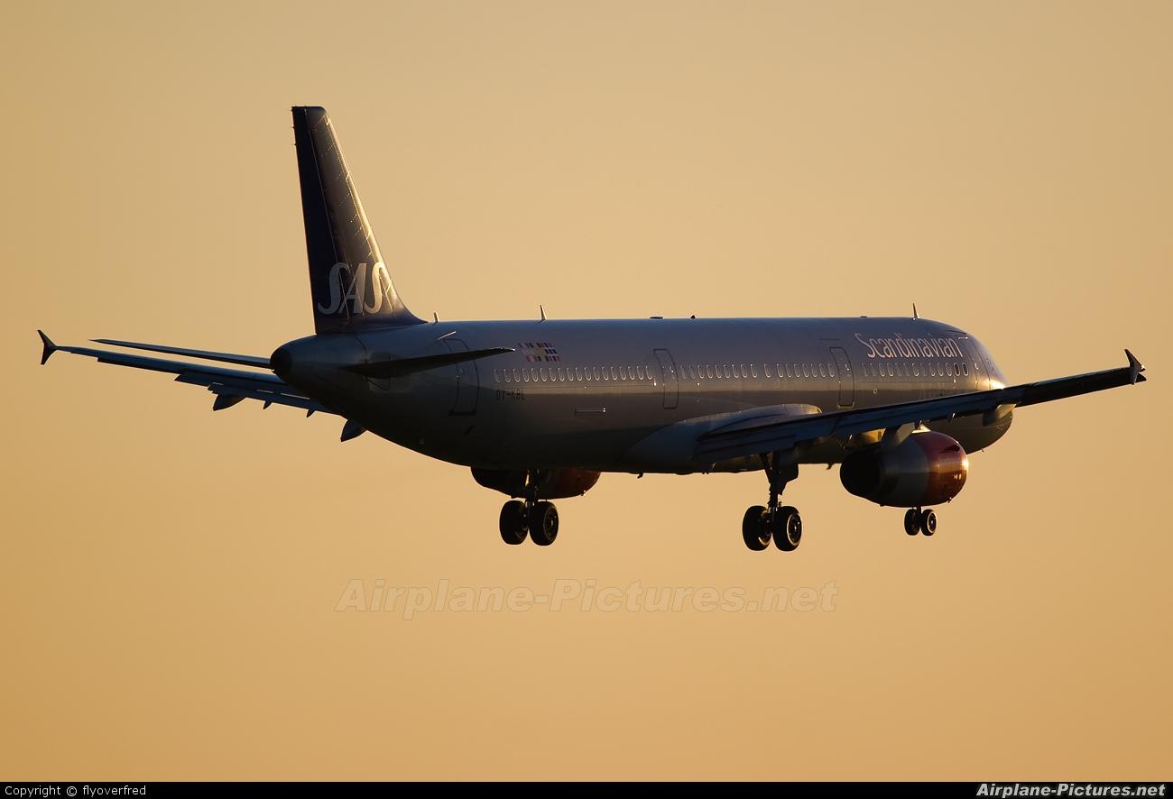 SAS - Scandinavian Airlines OY-KBL aircraft at London - Heathrow