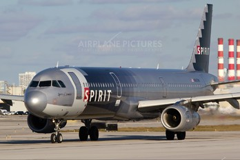 N587NK - Spirit Airlines Airbus A321