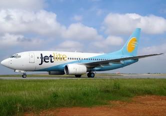 VT-SIV - Jet Lite India Boeing 737-700